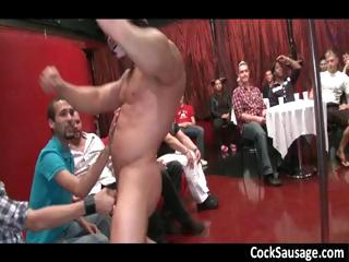 Duo muscled stud and 50 guys part2