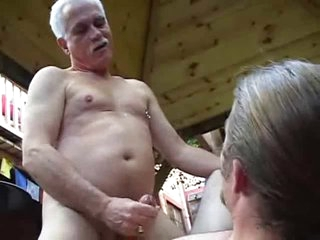 OLD grandDAD fucks YOUNG men's Nuisance