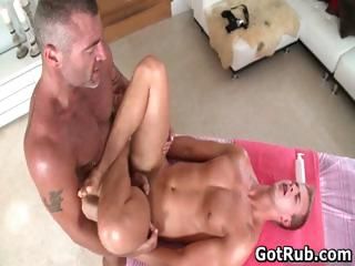 Guy gets best gay rub-down every part2