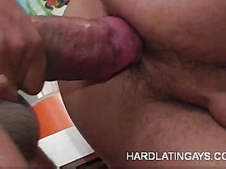 Gay Latino Richard Performs Oral