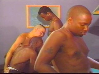 Ebony and Ivory Gay Orgy superior to before Pool Meals