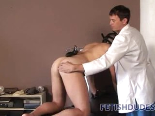 Doctor trains submissive to be his pet