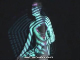 Twink nude body is the go sailing be fitting of a light show