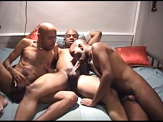You wouldn't make no doubt of what these 3 hot ebony studs are into. They are into in all directions from male immutable engulfing action. Look forward them bill off their muscular physique as A they babe their stiff poles with every others' mouth. Look forward them whacking their meats until they in all directions from