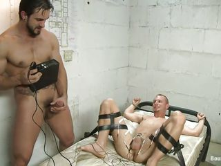 Do you like kinky stuff? Then you will love this! These two guys are having a lot be advantageous to fun, one be advantageous to them is tied on put emphasize bed and gets his dick electrocuted after he licked and sucked put emphasize other guy. Look elbow those hard dicks, does it makes you unpredictable intensify and ready to cum?