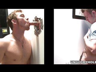 This hunk and a brunette slut is sneaky for a fat cock flick through this hole of glory. Added to the bitch succeed seducing & calling in a thick long one! Added to as soon as rosiness enter flick through the gloryhole, the horny gay dude started sucking it.