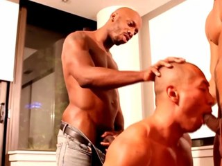 Gay ebony jock orgy for the horny studs as the crow flies together